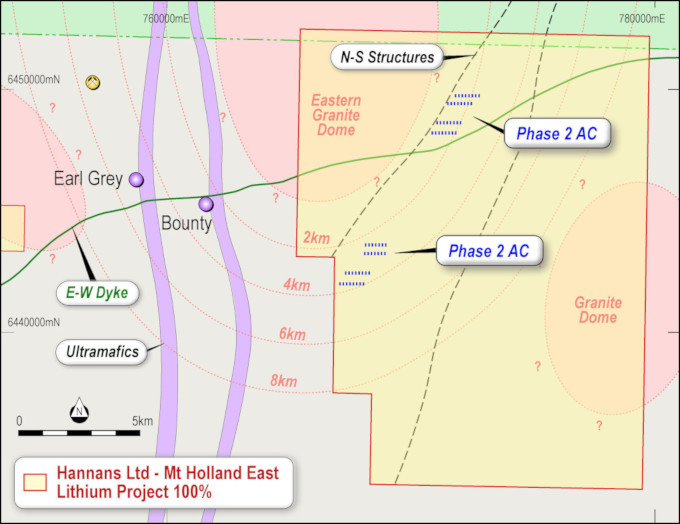 Hannans Reward Australian Lithium Projects